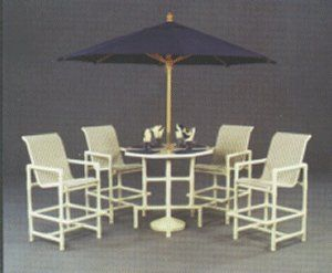 Can Withstand Salt Air Pvc No Cushions