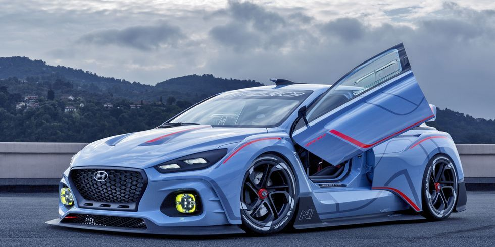 Hyundai Previews Hot Hatch with Bonkers RN30