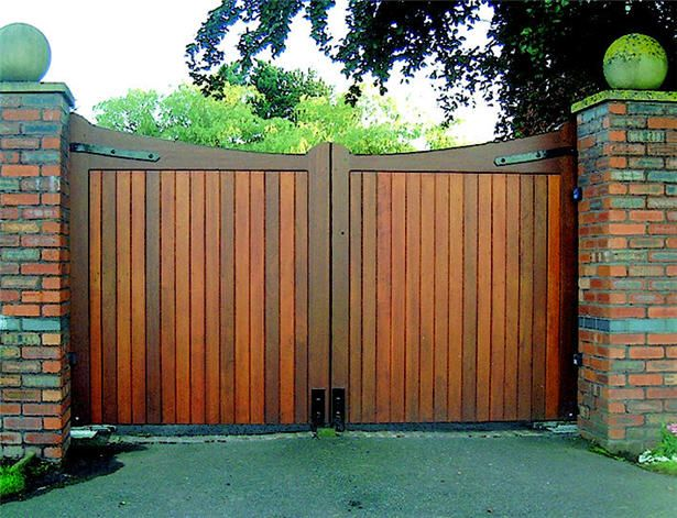 Image result for wooden gates