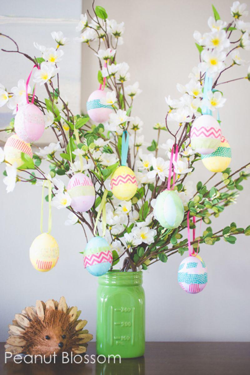 Adorable Easter Egg Tree