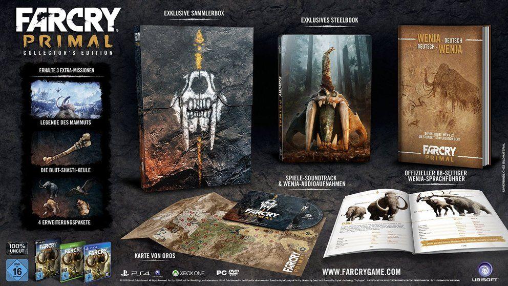 Far Cry Primal Alle Editionen Des Steinzeitabenteuers Soundtrack Spiele Actionspiele