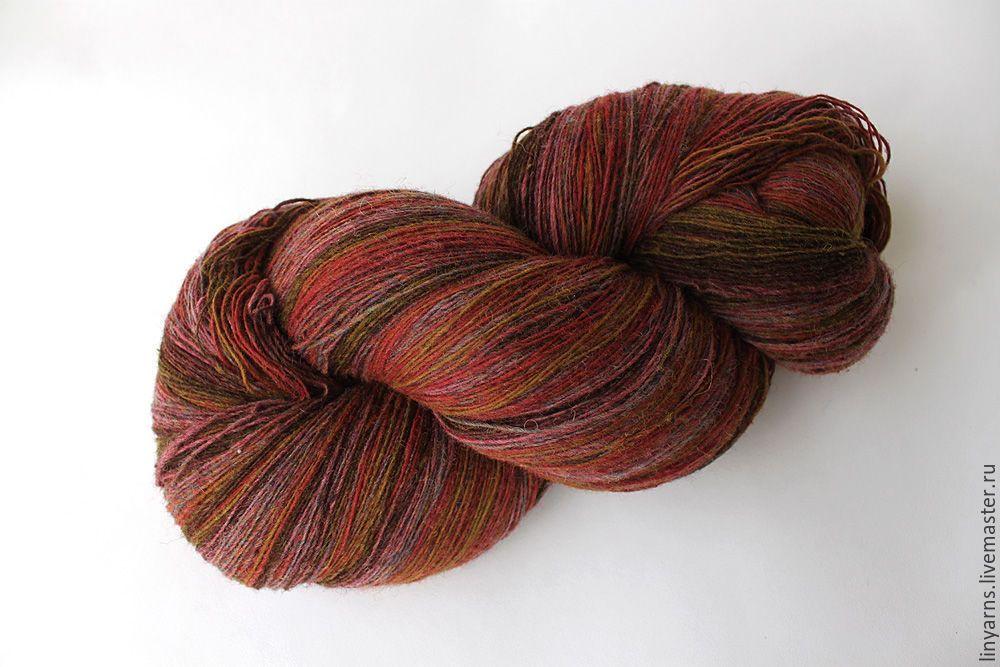 Купить Латвийская пряжа Дундага 6/1 цвет 539 / 2 - Латвия, дундага, пряжа