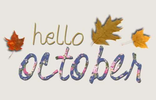 Bon Hello October Images