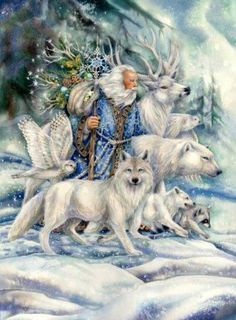 """The Frost King ""  An Old Russian Folk Tale  - 1st published in (1855)"