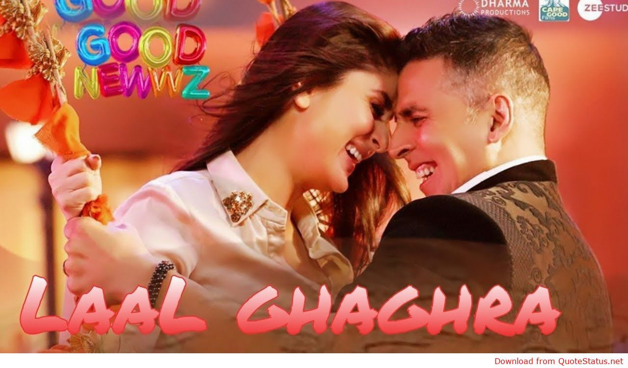 Laal Ghaghra Good Newwz song download video mp4 mp3