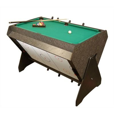 On The Edge Marketing 3 In 1 Game Table Foosball Pool Air Hockey Small Game Rooms Small Bedroom Furniture Furniture For Small Spaces