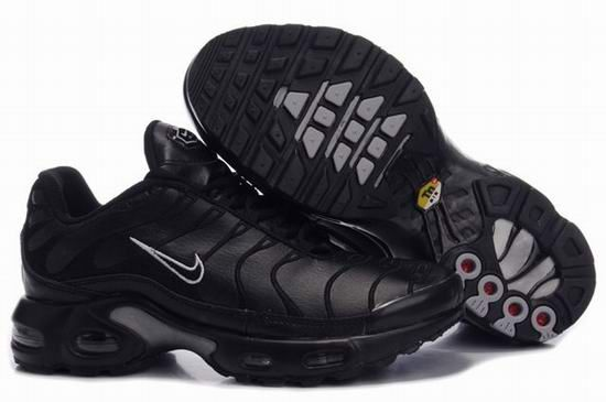 best value purchase cheap crazy price Womens Nike Air Max Plus TN Trainers Black White Embroidery ...