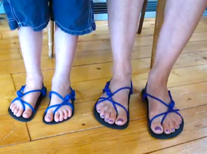 How To Tie Xero Shoes Barefoot Running Sandals Craft Ideas