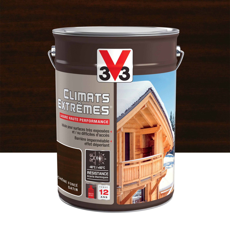 Lasure V33 Climats Extrêmes 5 L Chêne Foncé Products En