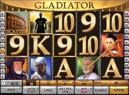 Игры казино гладиатор yигровые автоматы бесплатно