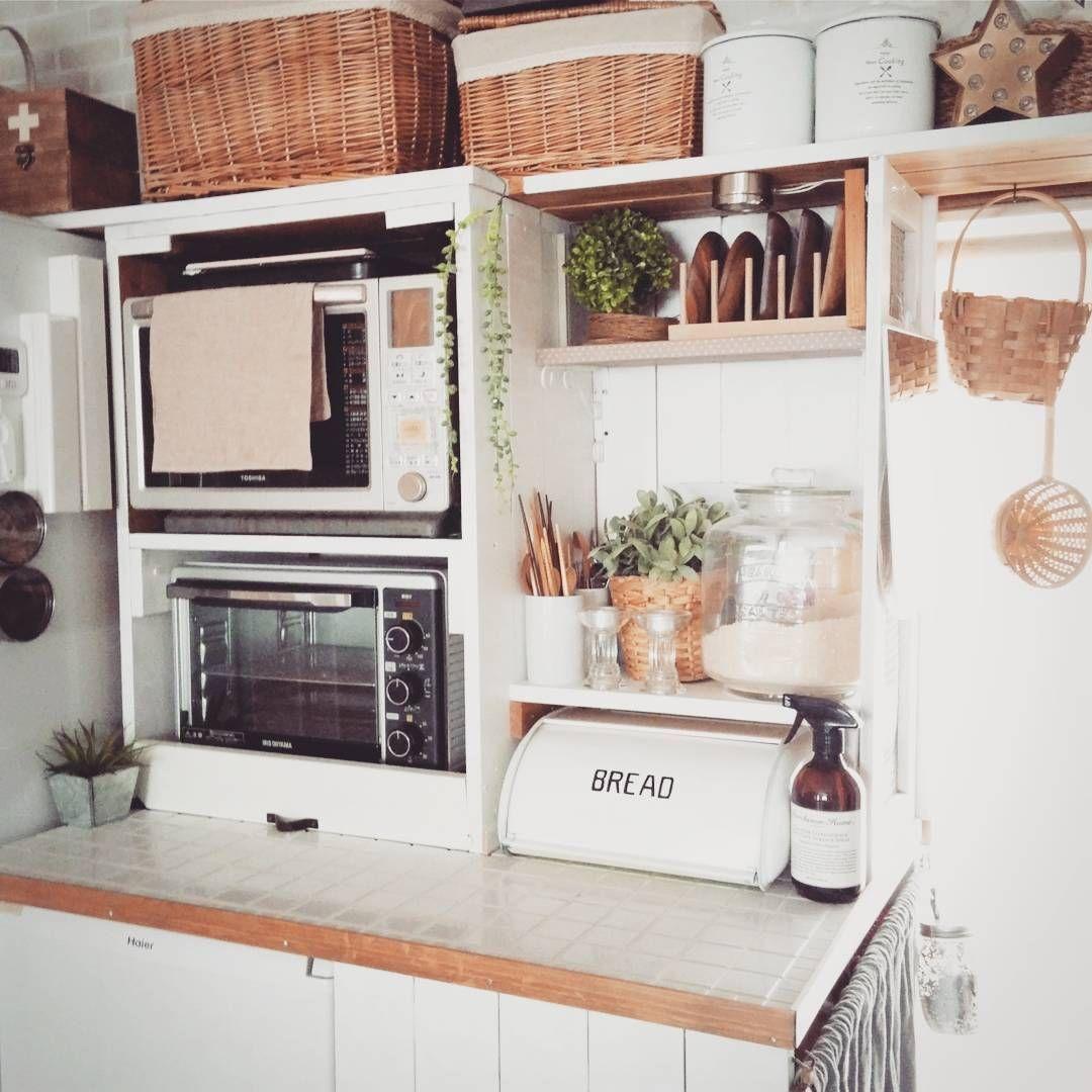 レンジはどこにどうやって配置してる キッチンの中でも重要なレンジ台に注目 Folk レンジ台 キッチン レンジ