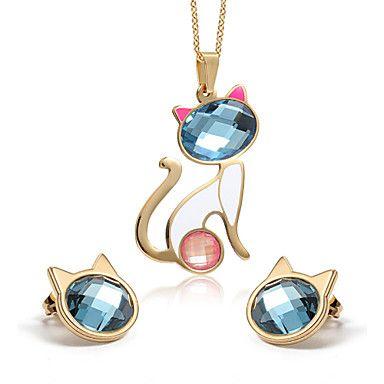 moda estaño trébol de plata ópalo aleación de platino de la joyería de chapados – MXN $ 236.57