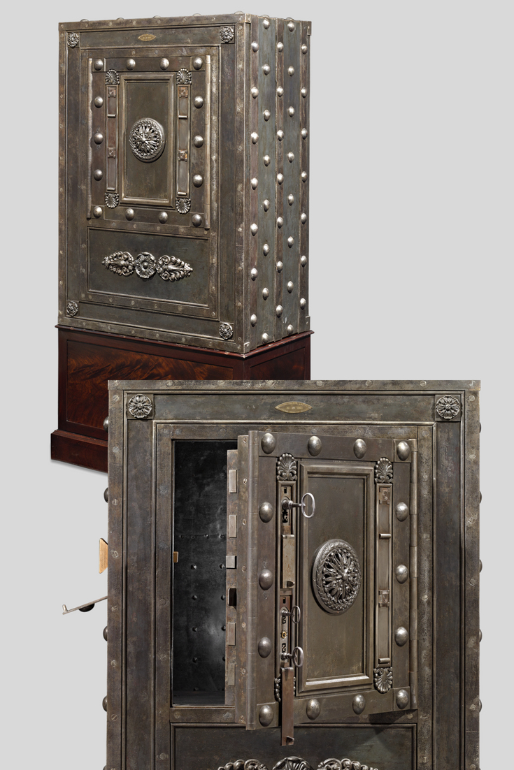 This 19th Century Italian Iron Safe Was Made With Security In Mind The Safe Was Made By Italian Manufactu Antique Furniture For Sale First Home Gifts Antiques