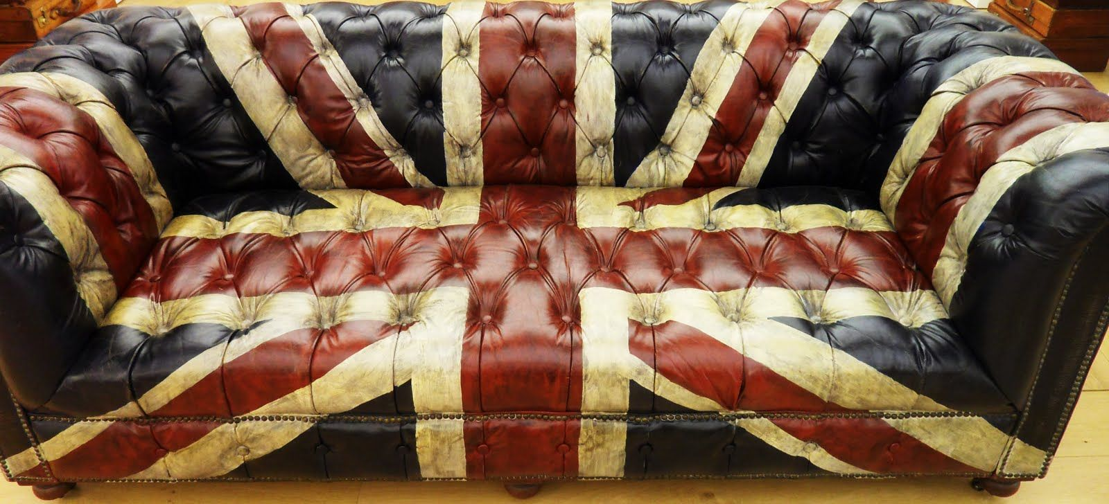 Chesterfield Sofa Musttt Have Pinterest Union Jack