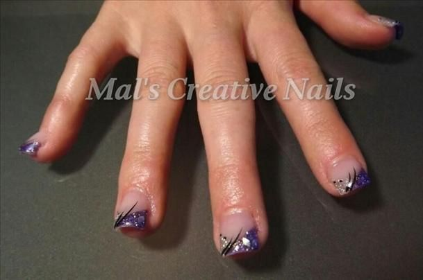 Purple & Silver Formal Design