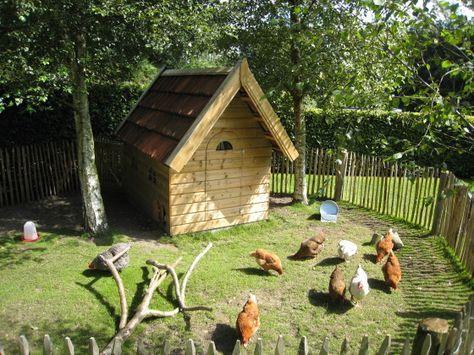 hühnerstall im garten hühnerhaltung