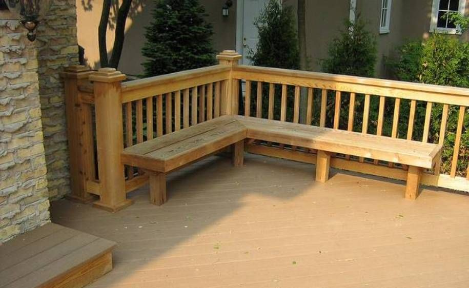 Diy Patio Bench Seating Porches