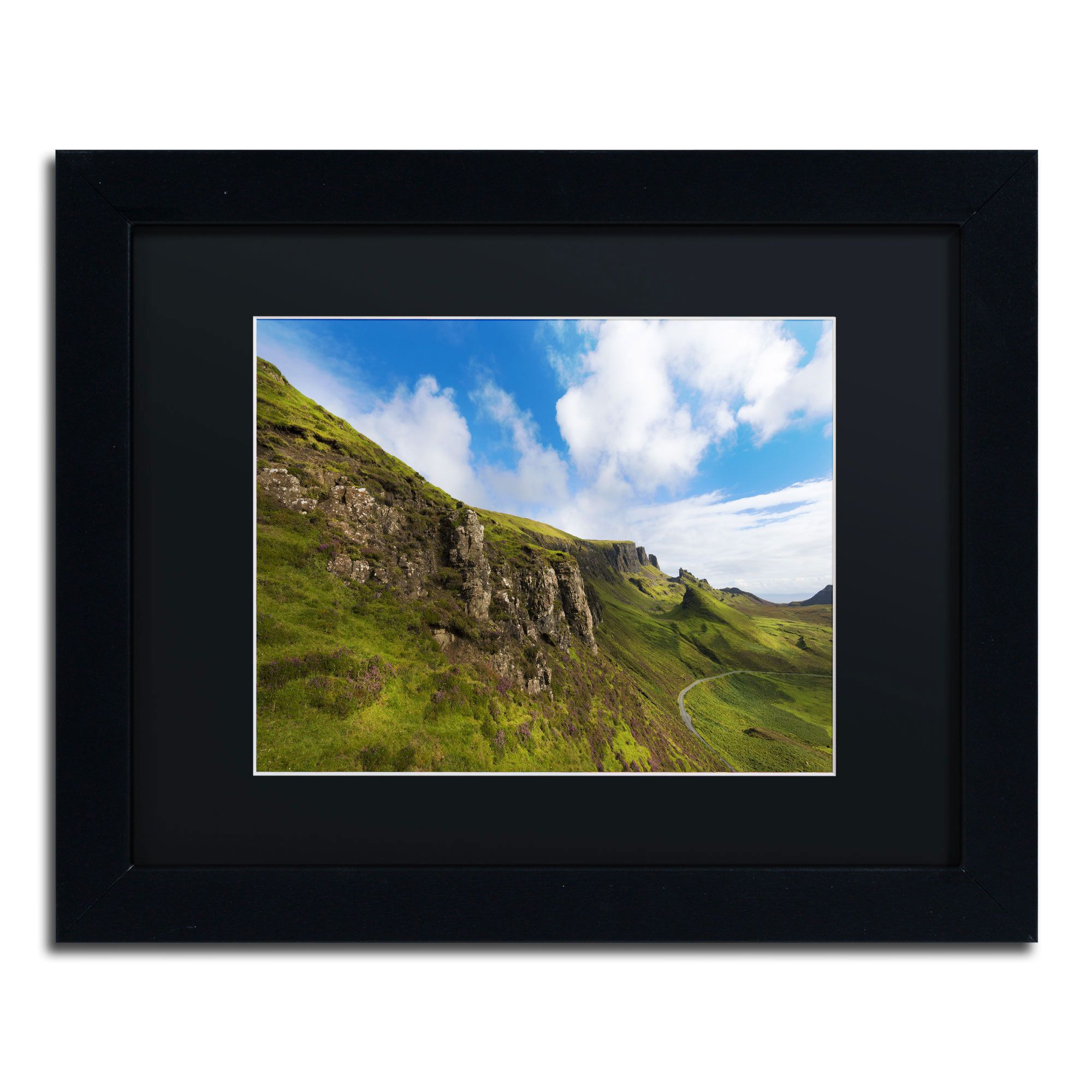 Philippe Sainte-Laudy 'Singing Colour' Framed Canvas Wall Art