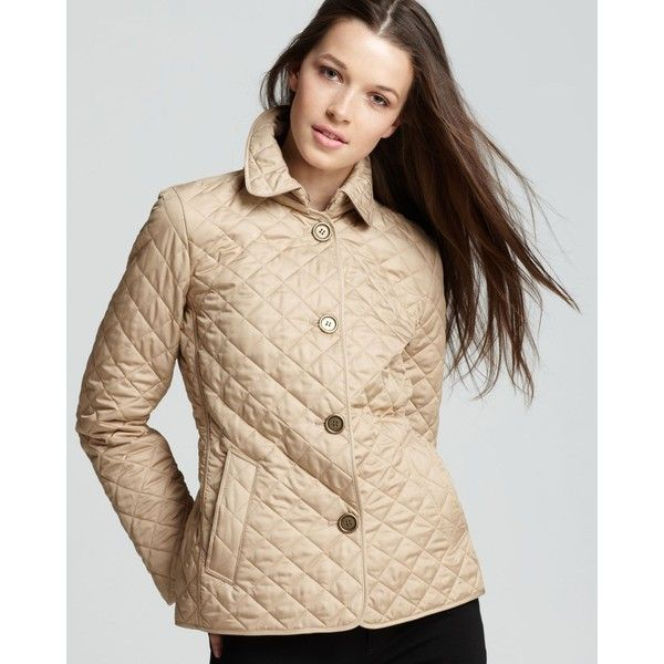 Burberry Brit Copford Quilted Jacket ($595) ❤ liked on Polyvore ... : copford quilted jacket - Adamdwight.com