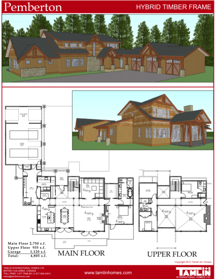 Canada west coast timber frame house package home plans and designs contemporary postandbeam hybridtimberframe also above sq ft in tamlin pinterest rh