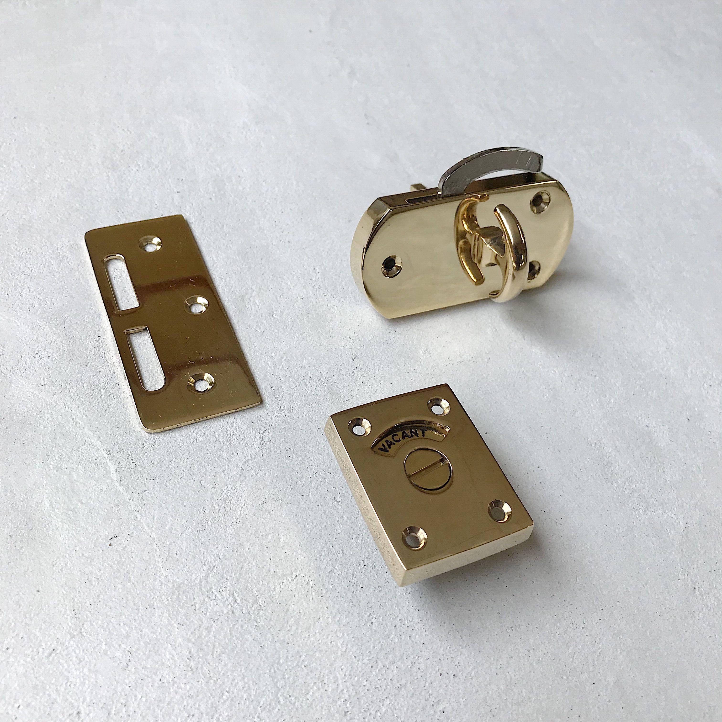 真鍮表示錠 Type3 引戸鎌錠タイプ 引き戸 取っ手 表示 重厚感