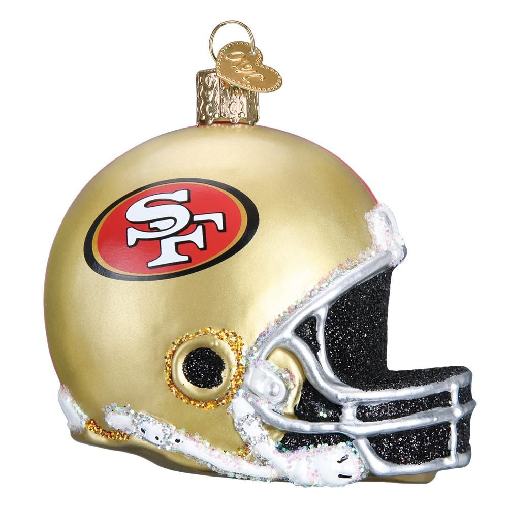 NFL San Francisco 49ers Train Ornament
