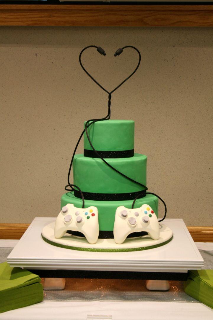 Nerrrd Wedding Cake