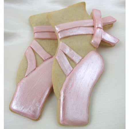 Ballet Shoe Cookie cutter.