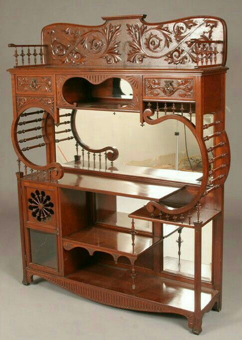 art nouveau sideboard jugendstil und art deco pinterest jugendstil jugendstil m bel und. Black Bedroom Furniture Sets. Home Design Ideas