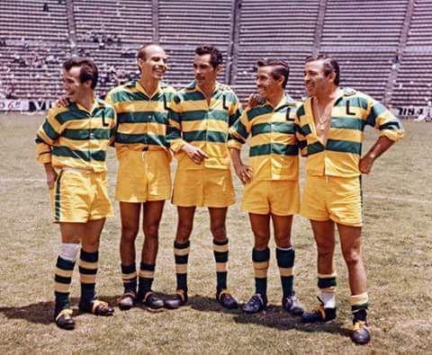 los hermanos Valdés en Ciudad de los Deportes, De izquierda a derecha, Tin Tan, Ratón Valdés, Ron Damon, Loco Valdés y Cristian Valdés!