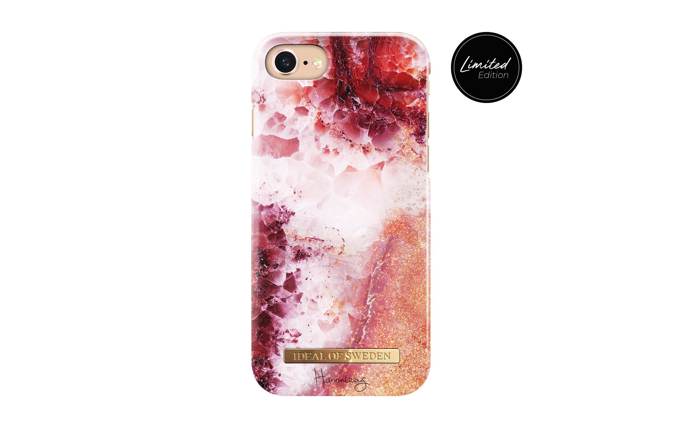 Hannalicious Collection iPhone 7 Coral Crush - iDeal Of Sweden 17c295eb9deb8