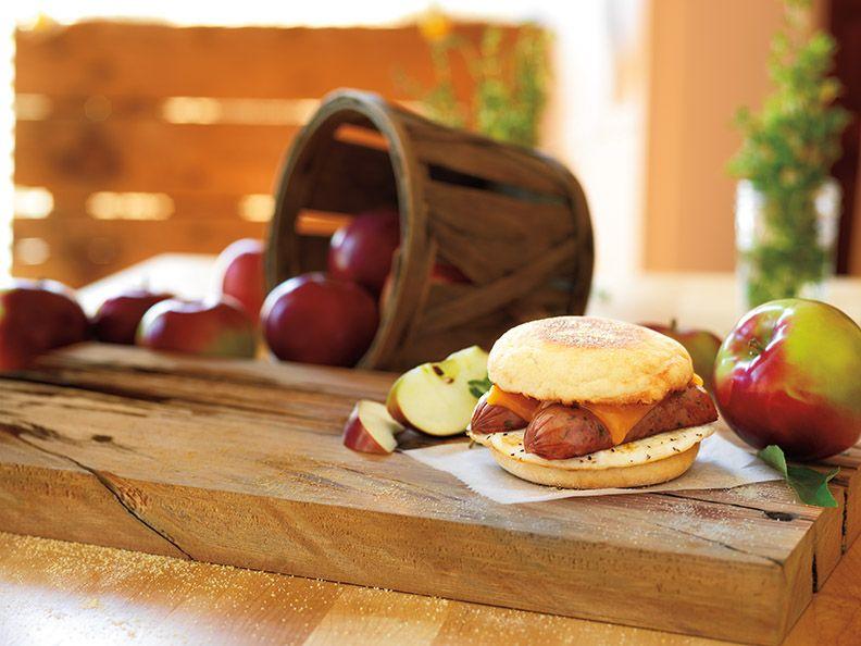 Jaime Loves Stuff : Dunkin' Donuts Chicken Apple Sausage Breakfast Sandwich (+Giveaway)