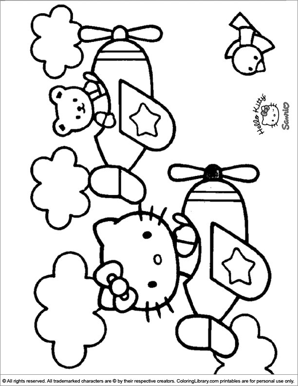 Hello Kitty Coloring Picture Hello Kitty Colouring Pages Hello Kitty Coloring Hello Kitty Drawing