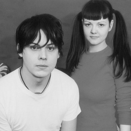 The White Stripes. This is when Jack and Meg were young. Love the The White Stripes.