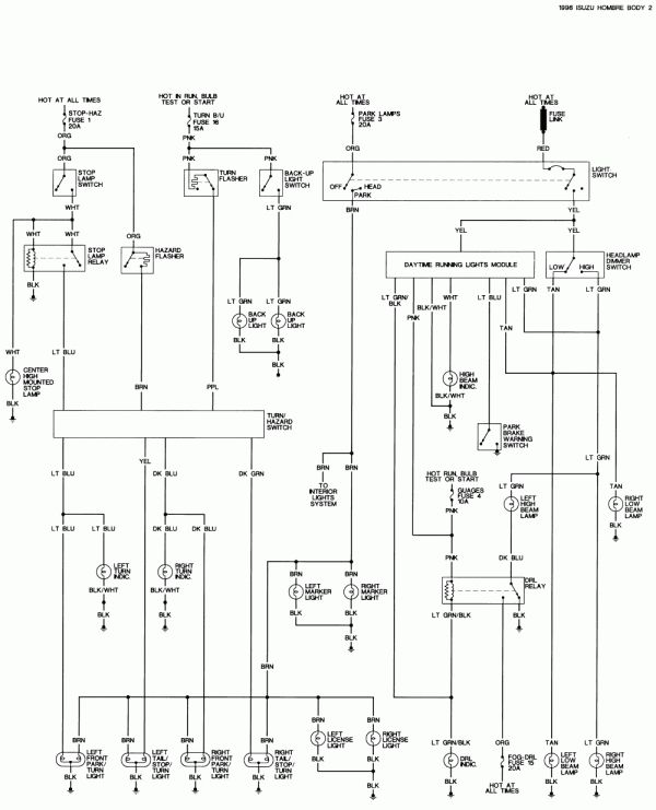 10+ 1996 Isuzu Trooper Electric Seat Wiring Diagram ...