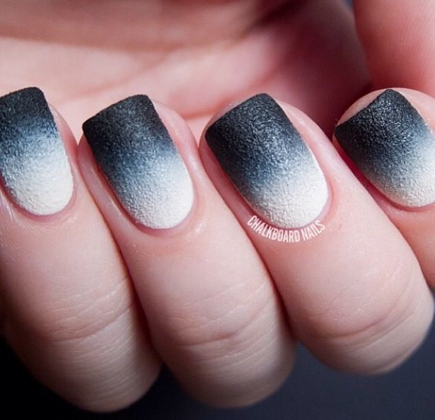 Pin By Asia Harrison On Kitty Cat Claws Ombre Nails Ombre Nail Art Designs Black Ombre Nails