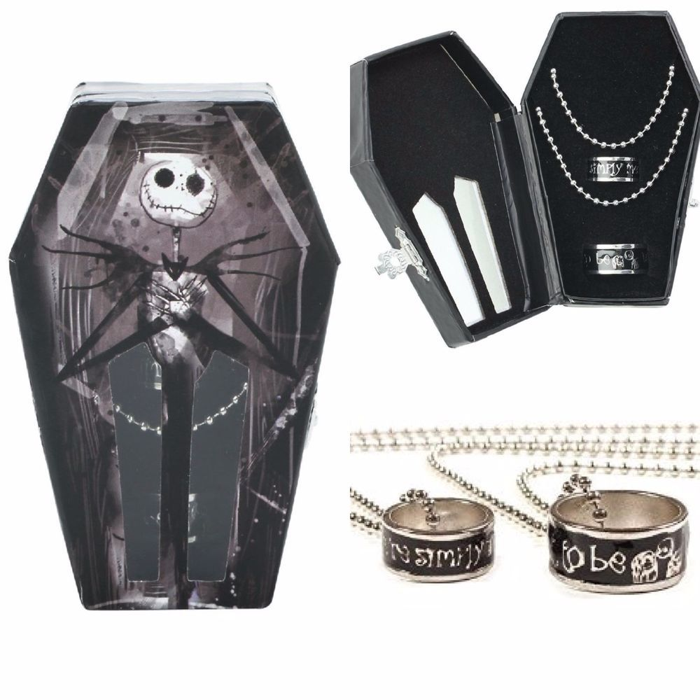 Disney nbc nightmare before christmas jack skellington ring coffin ...