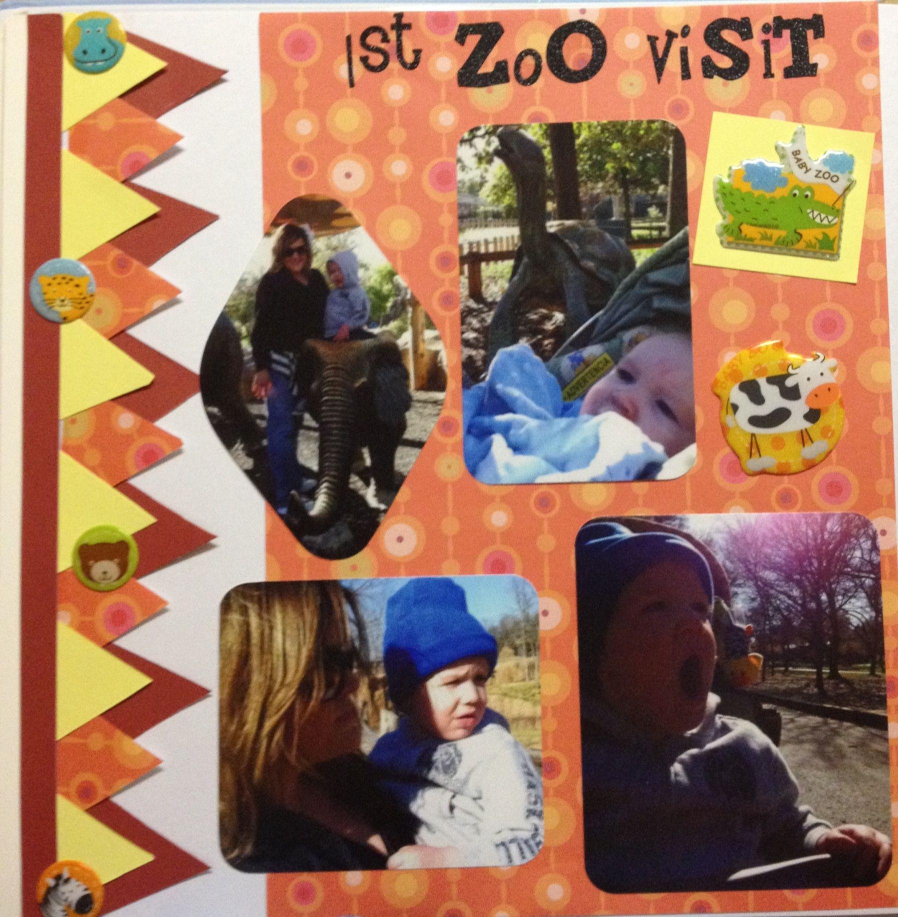 Zoo animal scrapbook ideas - Scrapbook Ideas Animal Scrapbook Zoos Scrapbook First Trip To Zoo Scrapbooking Page Scrapbook Ideas Animal Scrapbook Zoos Scrapbook