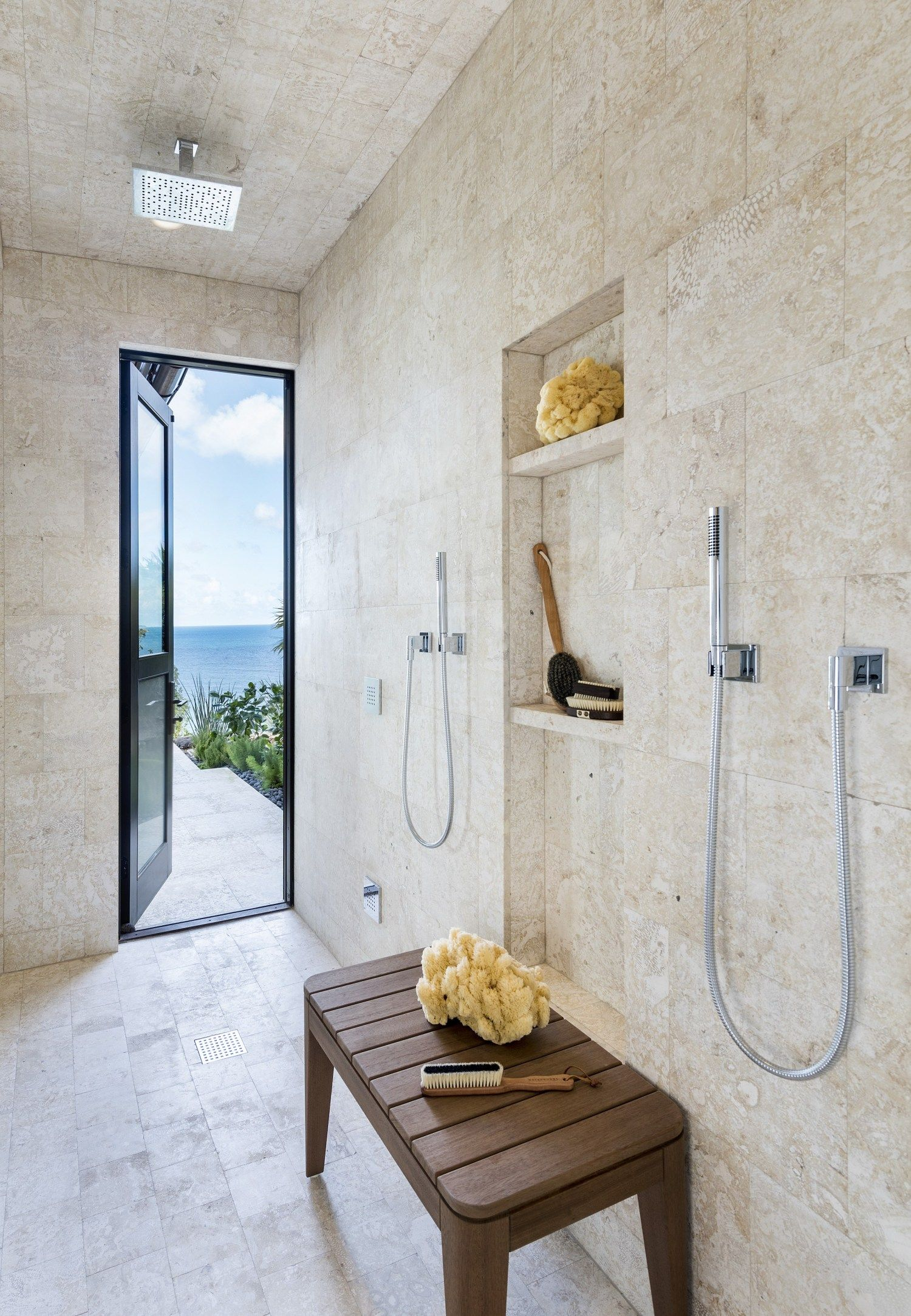 Best West Indies Cliffside Villa With Images Carved Doors 640 x 480