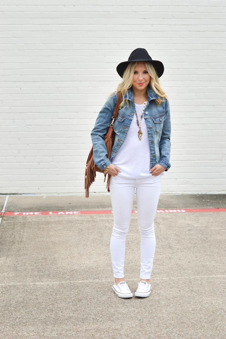 What To Wear With White Jeans: 20 Perfect Outfits