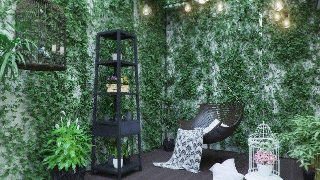 Eco-Atrium-an-elegante-living-room-using-contemporary-lighting   See more inspiring ideas at: http://contemporarylighting.eu