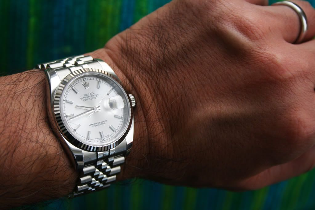 rolex datejust 36mm on wrist - Google Search | Rolex ...Rolex Datejust 36mm On Wrist