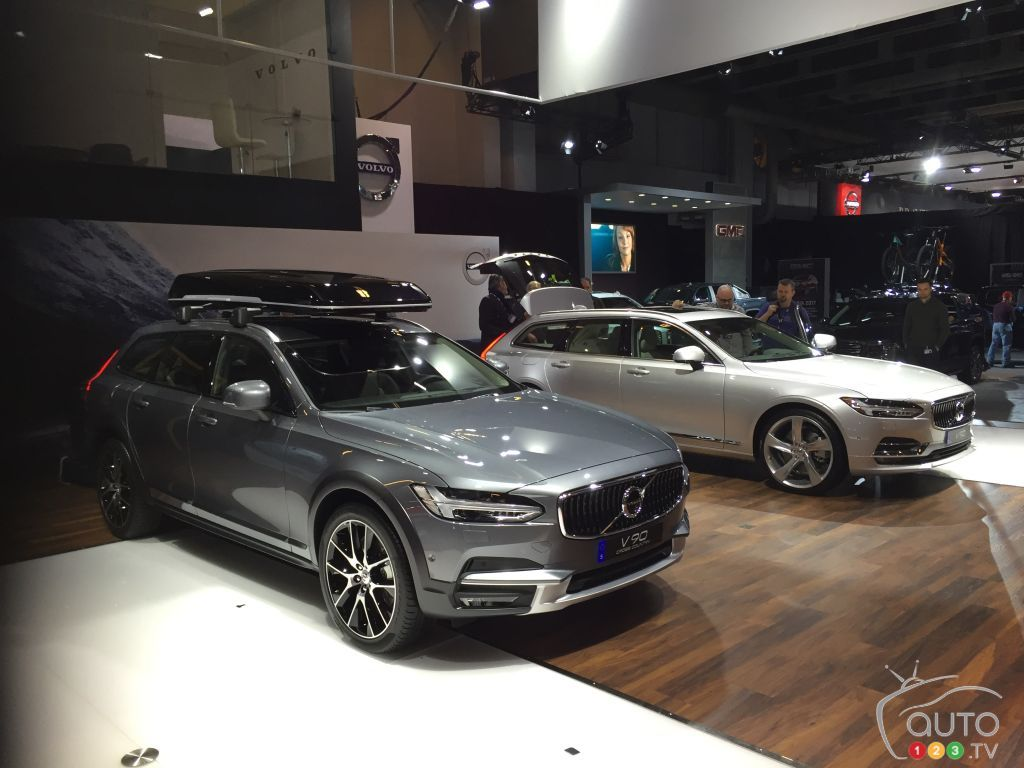 volvo v90 v90 cross country conquer crowds in montreal car news auto123