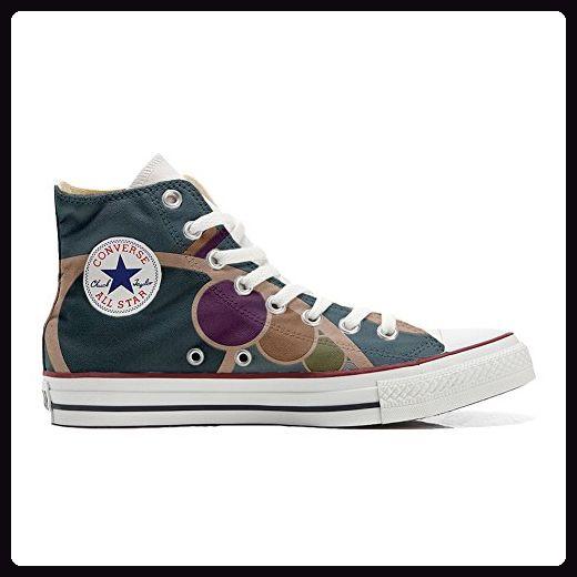 Converse All Star Low Customized personalisierte Schuhe (Handwerk Schuhe) Slim Schmetterling