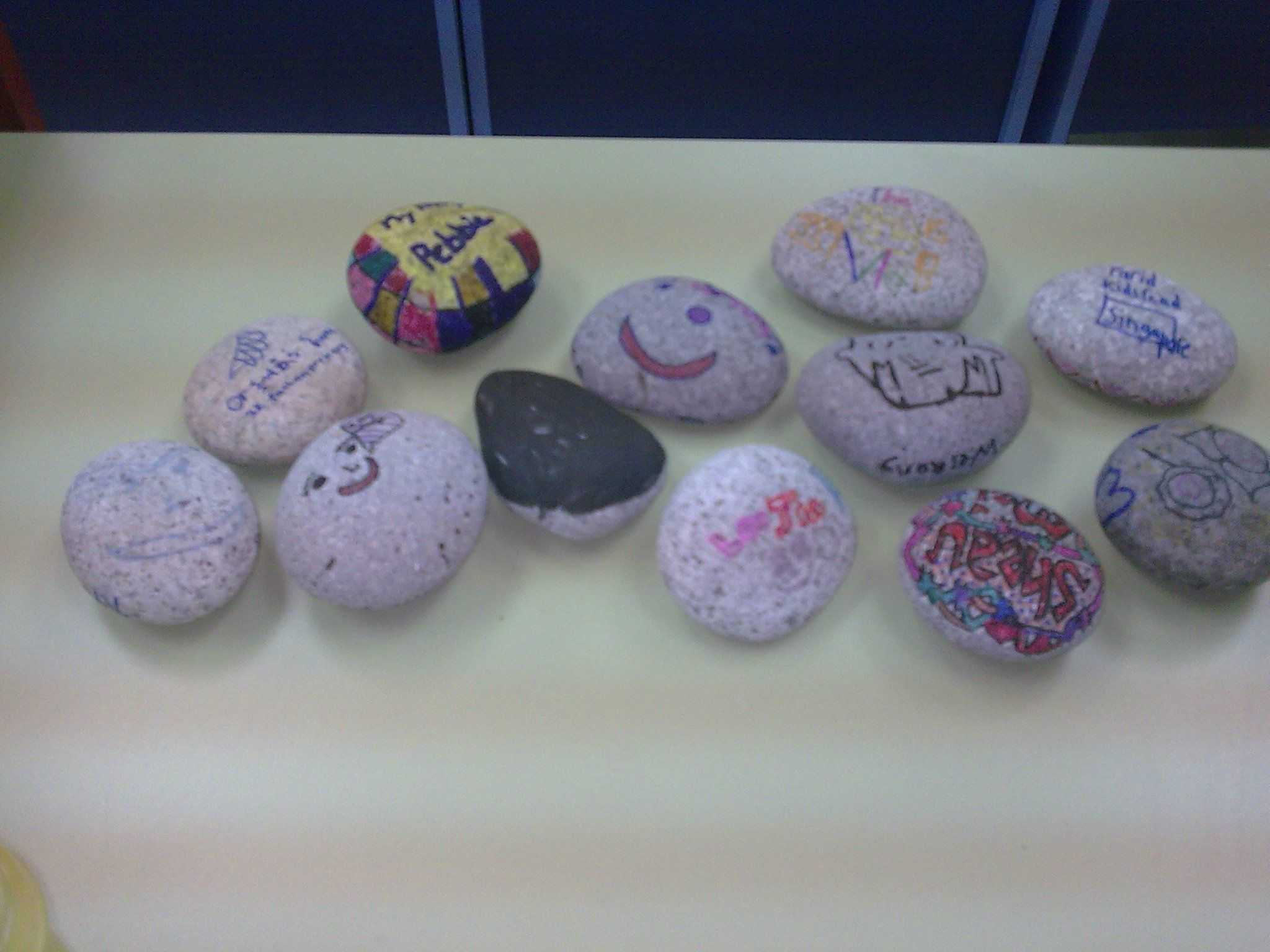 We Let The Kids Decorate Their Own Magic Pebbles After