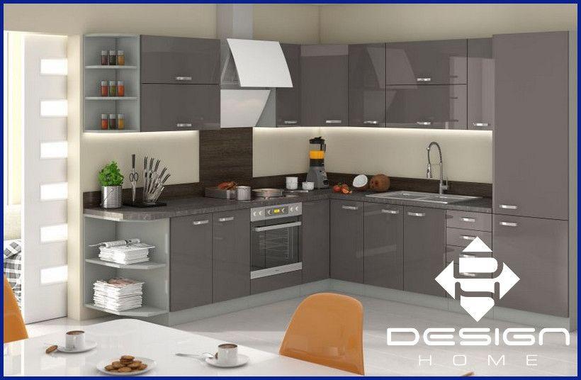 Meble Kuchenne Grey Szary Polysk Promocja 6031533583 Oficjalne Archiwum Allegro Kitchen Sets Home Decor Kitchen Cabinets