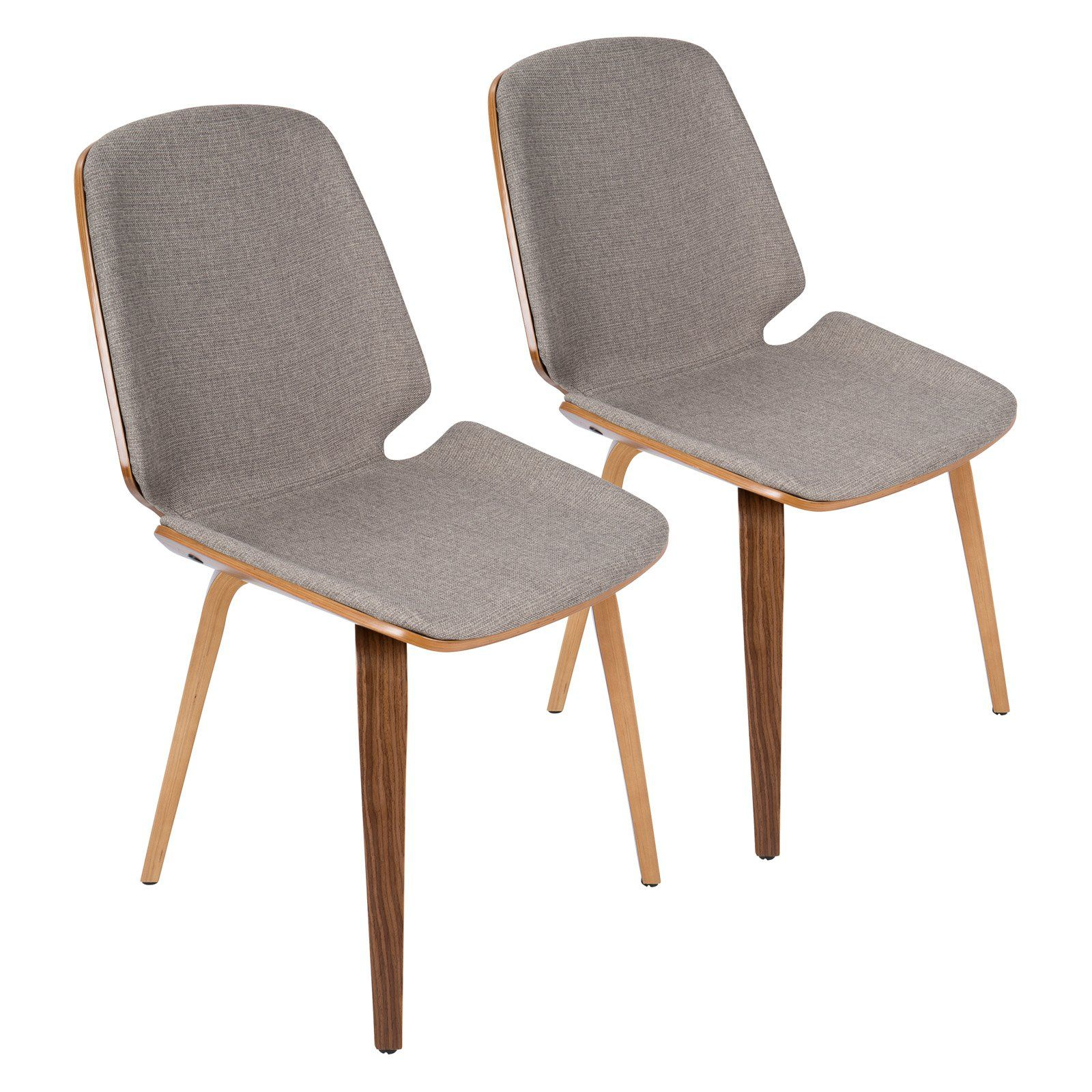 Lumisource Serena Mid-Century Modern Dining Chairs - Set of 2 - CH-SER  sc 1 st  Pinterest & Lumisource Serena Mid-Century Modern Dining Chairs - Set of 2 - CH ...