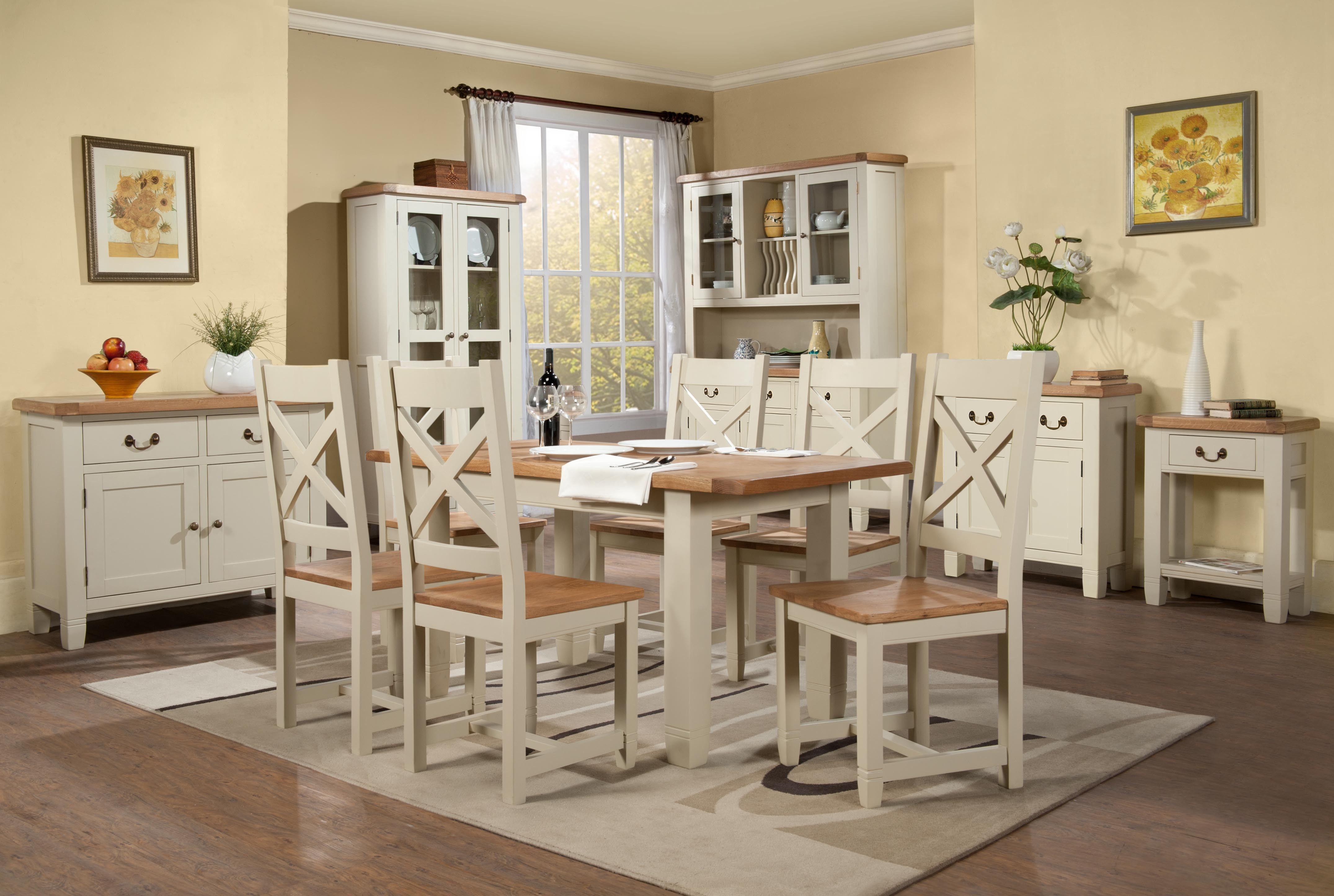 Melbury oak medium extending table u chair set kitchen pinterest
