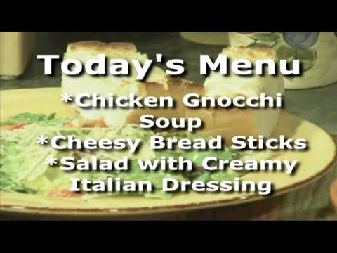 Everyday Manna with Lisa Smith: Chicken Gnocchi Soup