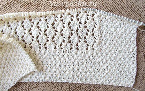 Pled Dlja Novorozhdennogo Spicami вязалочки Knitting вязание